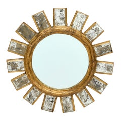 French Vintage Line Vautrin Style Mirror