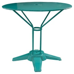 French Vintage Metal Garden Table