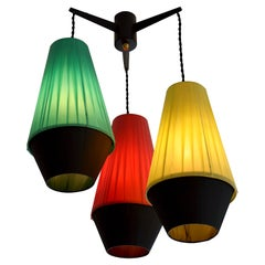 French Vintage Midcentury Ceiling-Light, 1950s