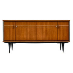 French Vintage Rosewood Buffet