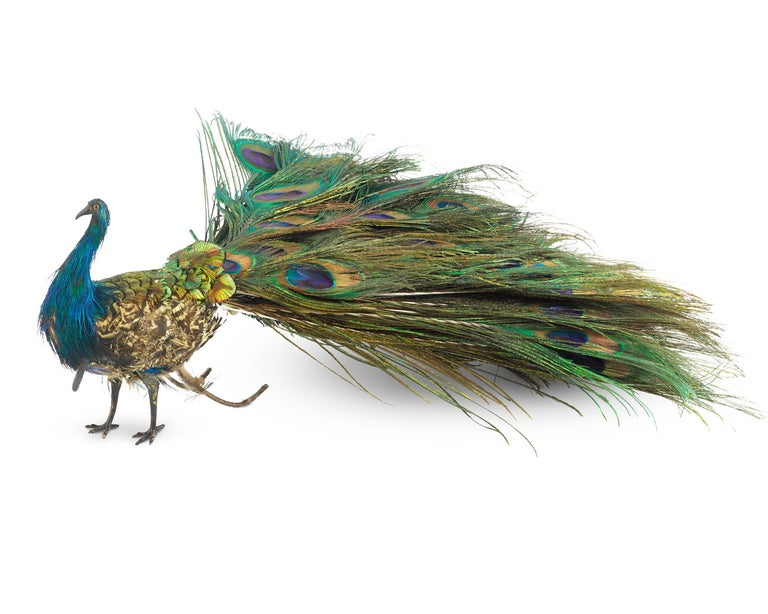 Other French Walking Peacock Automaton For Sale