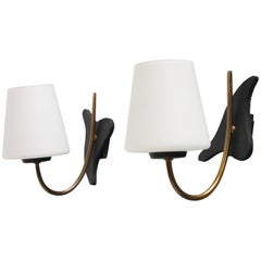 French Wall Lights by Maison Lunel