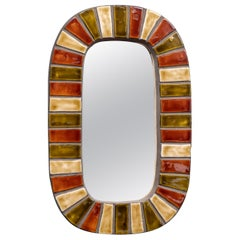 French Wall Mirror after Roger Capron