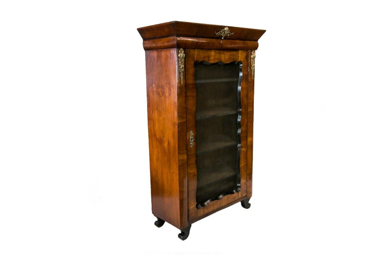 French Walnut Bookcase For Sale 4