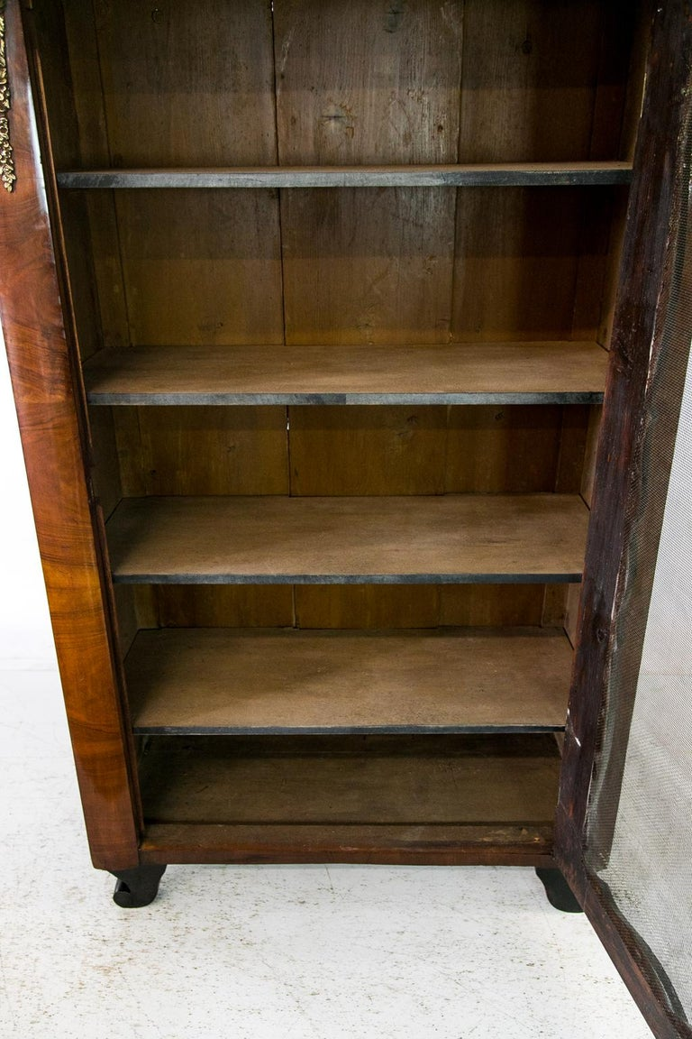 French Walnut Bookcase For Sale 3