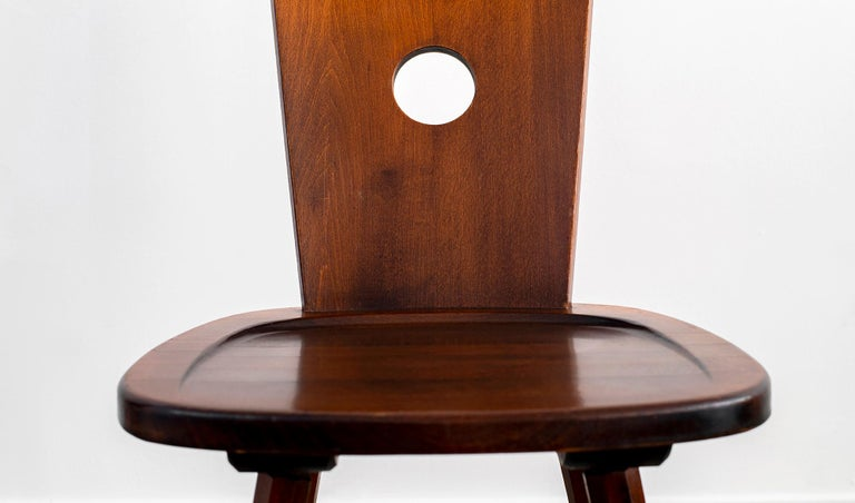 French Walnut Chair For Sale 9