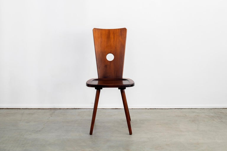 French Walnut Chair For Sale 1