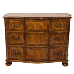 French Walnut Chest of Drawers