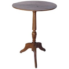 French Walnut Pedestal Table, circa 1890