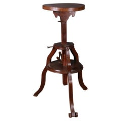 French Walnut Sculptors Stand
