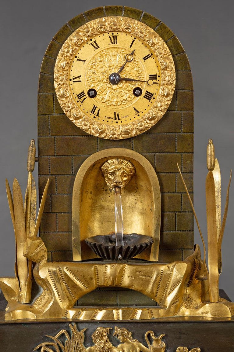 Water automation clock