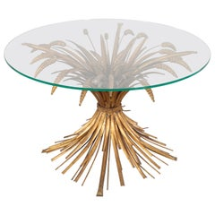 French Wheat Sheaf Table, 1960