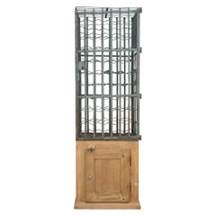 French Wine Cage Cabinet, Early 20th Century