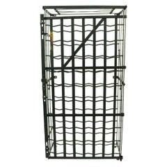 French Wine Rack Storage Locker by Rigidex