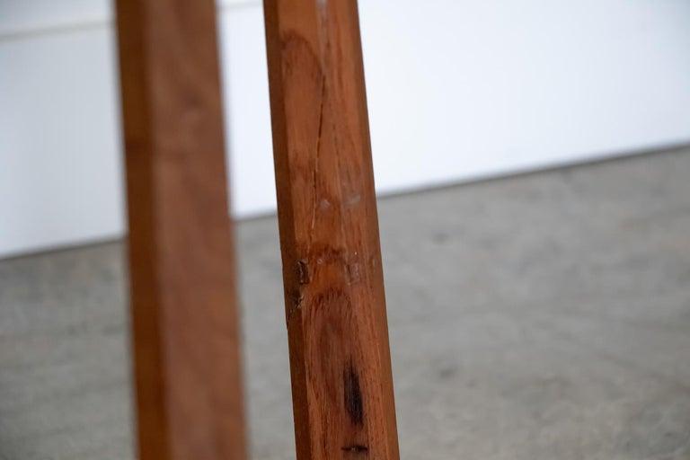 French Wood Tripod Stool 1