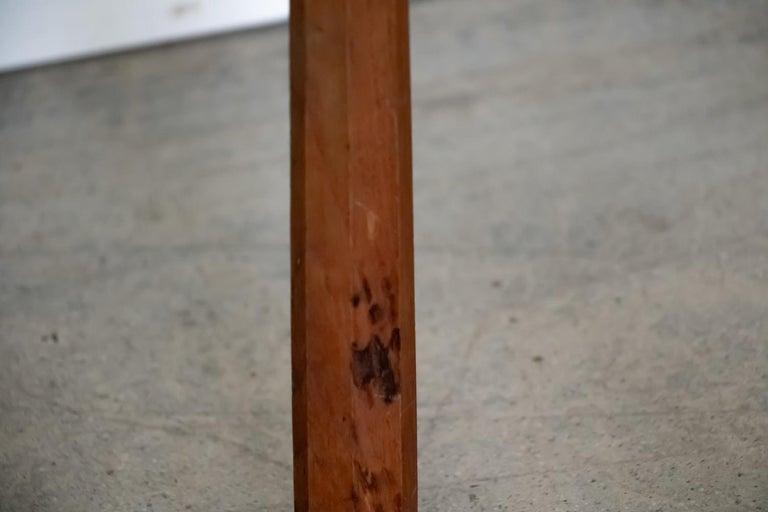 French Wood Tripod Stool 5