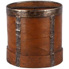 French Wooden Grain Measure, Early 1900s