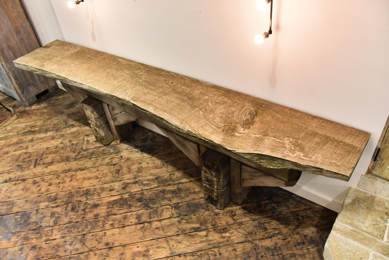 19th Century French Work Shop Table For Sale