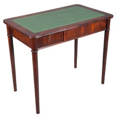 French Writing Table with Three Drawers