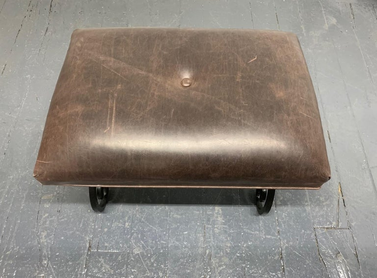 Directoire French Wrought Iron Bench For Sale