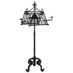 French Wrought Iron Lectern