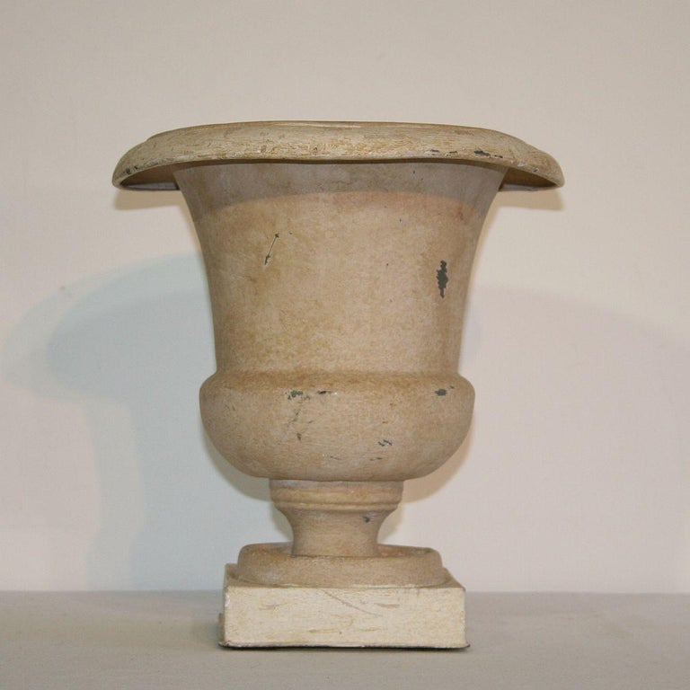 French Zinc Medici Vase, 19th Century In Good Condition For Sale In Amsterdam, NL