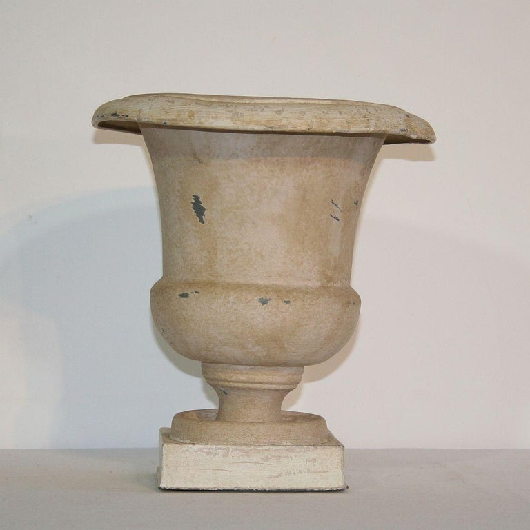French Zinc Medici Vase, 19th Century For Sale 1