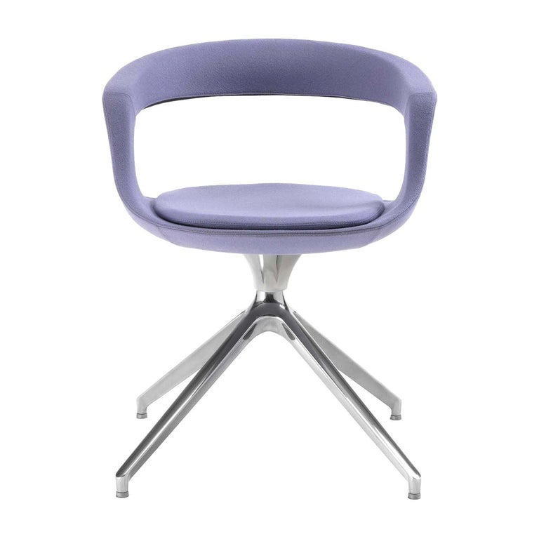 Frenchkiss Low-Backed Trestle-Based Chair by Stefano Bigi For Sale