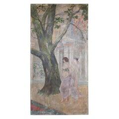 Fresco, Austria Early 20th Century
