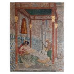 Fresco, Austria, Mid-20th Century
