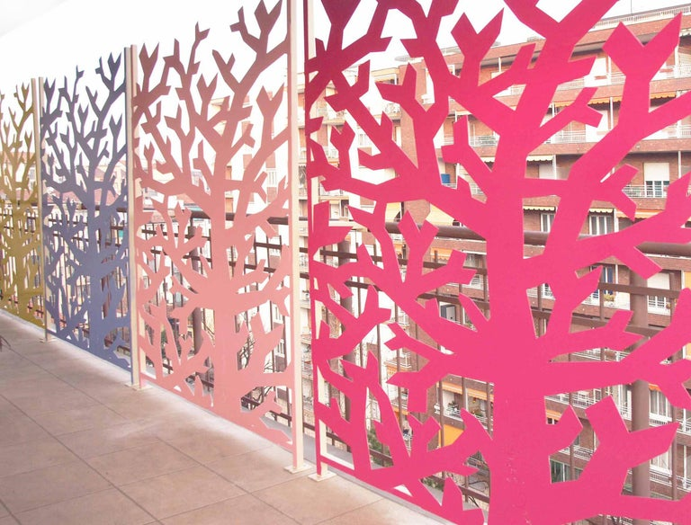 Contemporary Fresh, Decorative Tree-Screen, Collection Limited Edition, Signed by the Artist For Sale