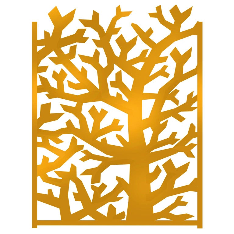 Fresh, Decorative Tree-Screen, Collection Limited Edition, Signed by the Artist For Sale