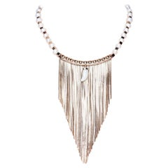 Freshwater Pearls Fringed Necklace from Iosselliani