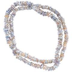 Gabrielle Sanchez Freshwater Slice Necklace