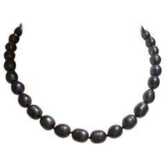 Freshwater Tahitian Baroque Pearl Necklace
