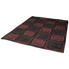 Fret Handwoven Wool Rug