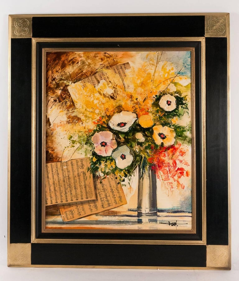A fascinating painting, acquisition directly made with the artist Jean-Pierre Frey and his agent in the 1990s.
