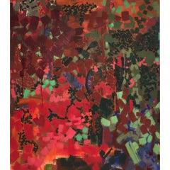 """Fricka 2"" Painting by Lynne Mapp Drexler, American"
