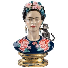 Frida Kahlo Figurine. Blue. Limited Edition