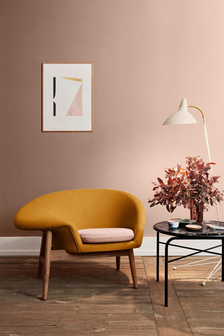 Fried Egg Two-Tone Chair, by Hans Olsen from Warm Nordic For Sale 8