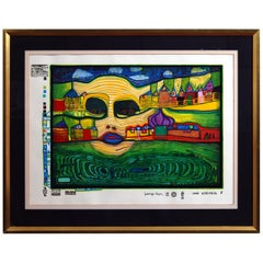 Friedensreich Hundertwasser Irinaland over the Balkans, 1971