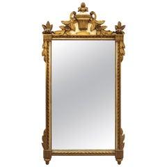 Friedman Brothers Mid-Century Hollywood Regency Wall Mirror