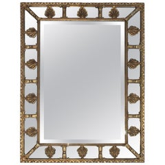 Friedman Brothers Scalloped Gilt Mirror