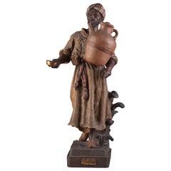 Friedrich Goldscheider, Oriëntalistische Man Terracotta