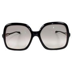 Friedrichs Palm Beach Vintage Oversized Black Eyeglass Frames Sunglasses