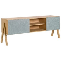 Friis and Moltke Timber Credenza 165, Lacquered Oak