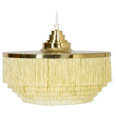 """Fringe"" Ceiling Lamp by Hans-Agne Jakobson, Sweden, 1960s"