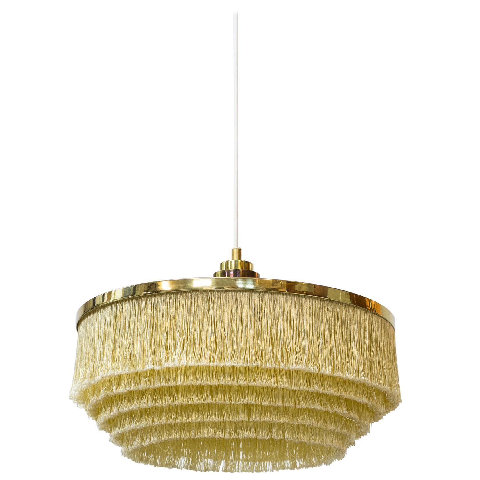 """""""Fringe"""" Ceiling Lamp by Hans Agne Jakobsson, Sweden, 1960s"""