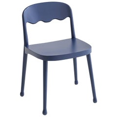 Frisée 250 Blue Chair by Cristina Celestino