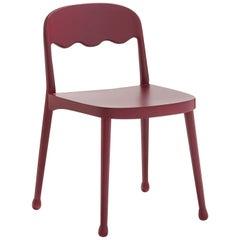 Frisée 250 Red Chair by Cristina Celestino